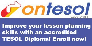 Lesson plans with TESOL Diploma